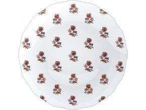 Dezertní talíř DUTCH GARLAND   porcelán   20x20cm