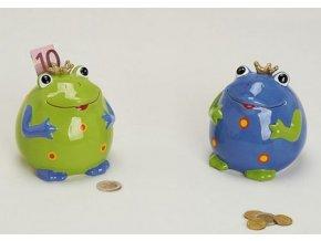 Kasička žába keramika 10cm
