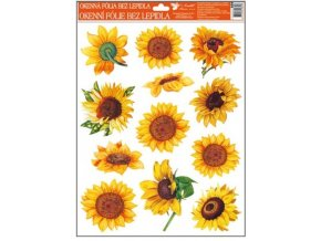 Okenní fólie slunečnice 42x30cm