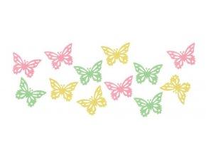 Motýlci z filcu set 12ks