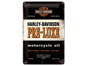 Plechová cedule Harley Davidson Pre Luxe