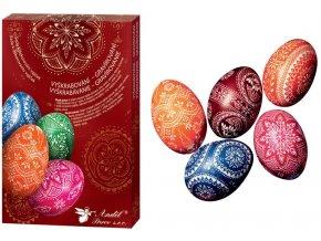 Sada k dekorování vajíček vyškrabování