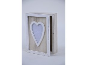 Krabička Love dřevěná