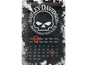 Plechová cedule Harley Davidson Motorcycles patina