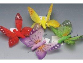 Zápich motýl 10 x 12 cm