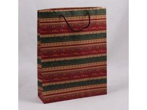 Dárková vánoční taška 32cm