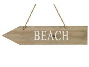 zavesna dekorace beach