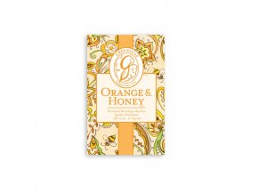 gl small sachet orange honey