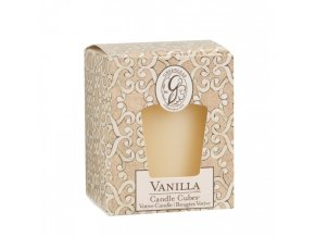 gl candle cube votive vanilla