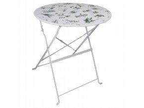 stolek zahradní skládací bylinky