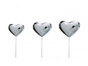 Zápich kovové srdce