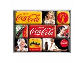 Magnetky na ledničku Coca Cola II