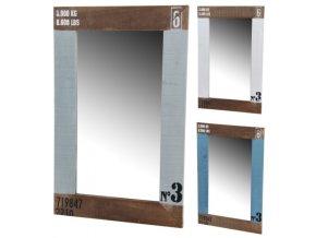 Dřevěné zrcadlo N3 55x2x36cm