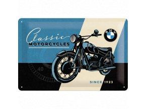 Plechová cedule BMW Classic Motorcycles since 1923