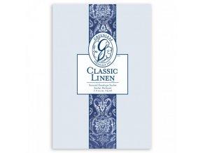 gl large sachet classic linen