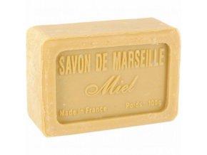 Mýdlo francouzské přírodní med miel 100g