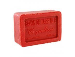 Mýdlo francouzské přírodní VLČÍ MÁK coquelicot 100g