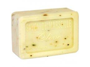 Mýdlo francouzské přírodní OLIVOVÉ LISTY olive 100g