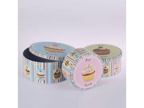 Dózy na potraviny Fresh Cupcakes