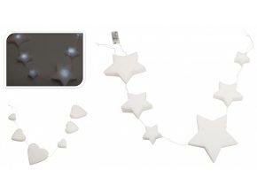svetelny retez 6 x led molitanovy