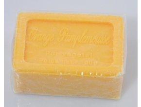 Mýdlo francouzské přírodní pomeranč a grapefruit orange pamplemousse 100g