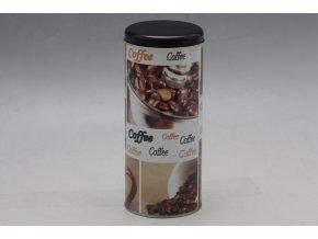 Plechová dóza na kávu 18x8cm