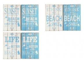 obraz s napisem beach