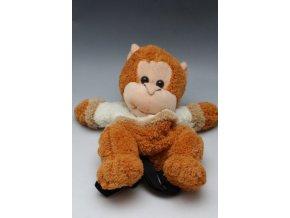plyšový batoh opička