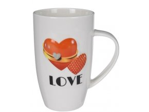Hrnek porcelánový Love 400ml