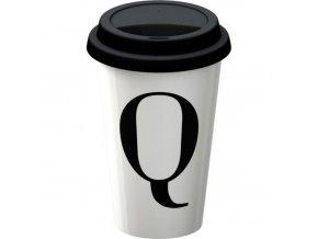 Termohrnek s písmenem Q
