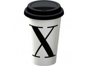 Termohrnek s písmenem X