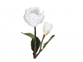 umela kvetina magnolie kremova