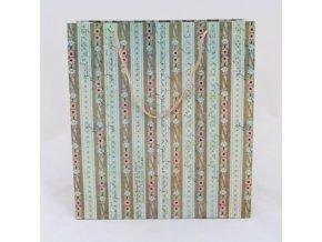 DÁRKOVÁ TAŠKA. ROZMĚRY 29 × 32 × 12 cm