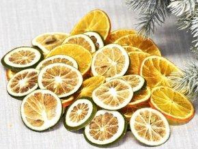 suseny pomeranc a limetka 100 g