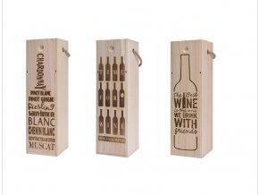 drevena bedynka na vino chardonnayuprava
