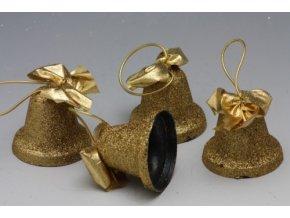 zvonecek zlaty na zaveseni 6 cm