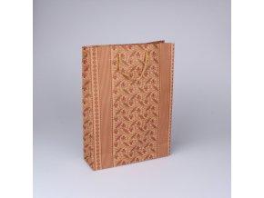 DÁRKOVÁ TAŠKA. ROZMĚRY 19 × 25 × 8 cm
