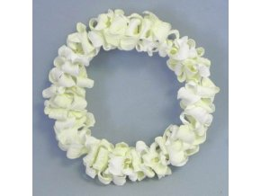 venec kvetinovy papir pr 15cm kremovy