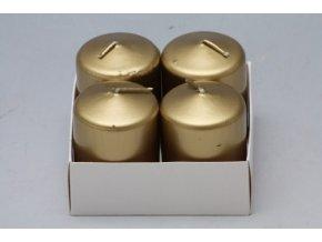 Adventní svíčky 5x4cm 4ks