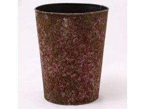 Obal na květiny červený 16 × 20 × 16 cm