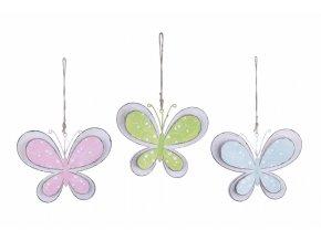 závěsný motýl