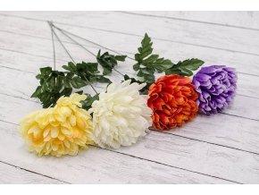 Květina umělá chryzantéma 57cm