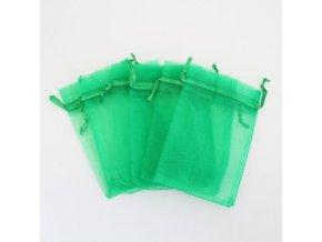 Sáček na vonnou směs zelený 15x10cm