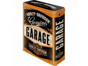 Dóza na potraviny Harley-Davidson Garage 19x26cm