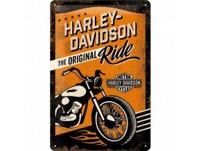 Plechová cedule Harley Davidson Ride