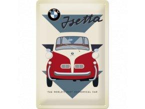 Plechová cedule BMW Isetta