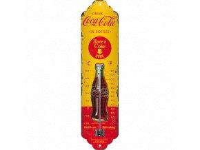 Venkovní teploměr kovový Drink Coca Cola 2