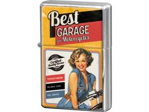 Zapalovač Best Garage III 4x6cm