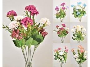 Umělá podzimní kytice 36cm