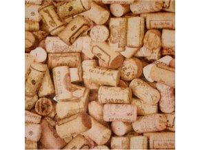Papírové ubrousky Cork 20ks